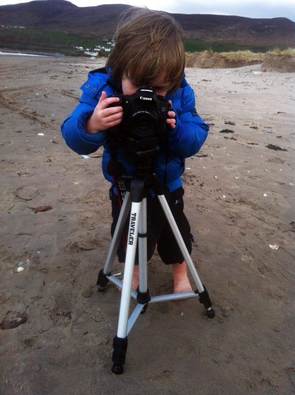 My Son the Photographer